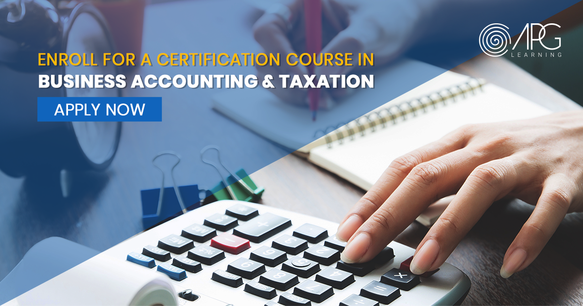Certificate Course in Business Accounting and Taxation